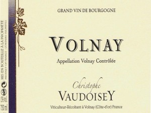 Volnay 2016 (bouteilles)