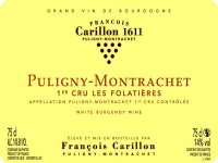 Puligny-Montrachet 1er cru Les Folatières 2018