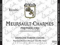 Meursault 1er Cru Charmes 2018