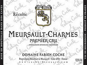 Meursault 1er Cru Charmes 2017