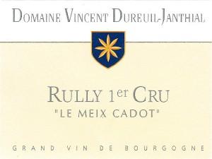 Rully 1er cru Le Meix Cadot 2017