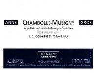 Chambolle Musigny la Combe d'Orveau 2019