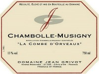 Chambolle-Musigny 2019 La Combe d'Orveaux
