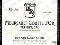 Meursault 1er Cru Goutte d'Or 2019
