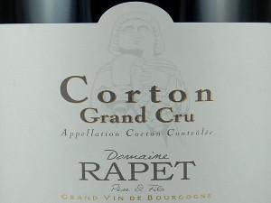 Magnum de Corton Grand Cru 2014