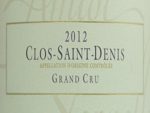 Magnum Clos-Saint-Denis Grand Cru 2012