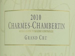 Magnum Charmes-Chambertin Grand Cru 2010