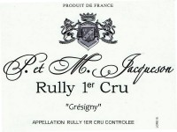 Rully 1er Cru Grésigny 2019